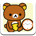 Rilakkuma Clock Widget 1 icon