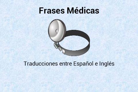 Frases Médicas Español-Inglés