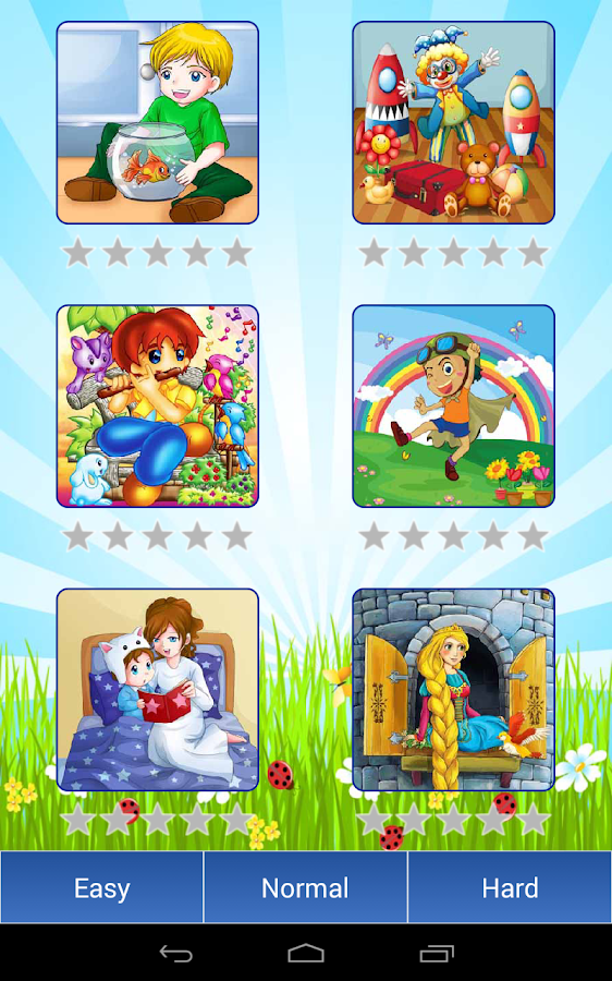 Cartoon Jigsaw drag puzzle - screenshot