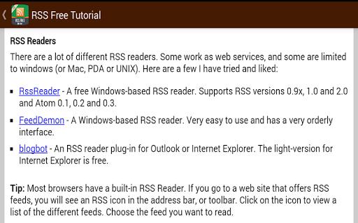 【免費教育App】RSS Free Guide-APP點子