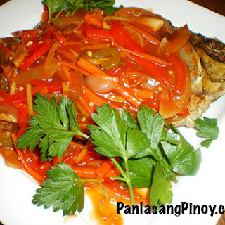 Sweet and Sour Tilapia.