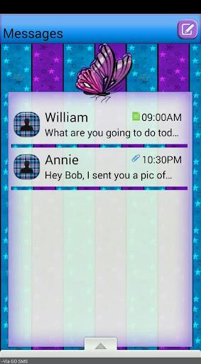 ButterflyStar GO SMS THEME