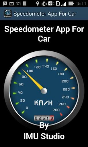 Speedometer App For Car