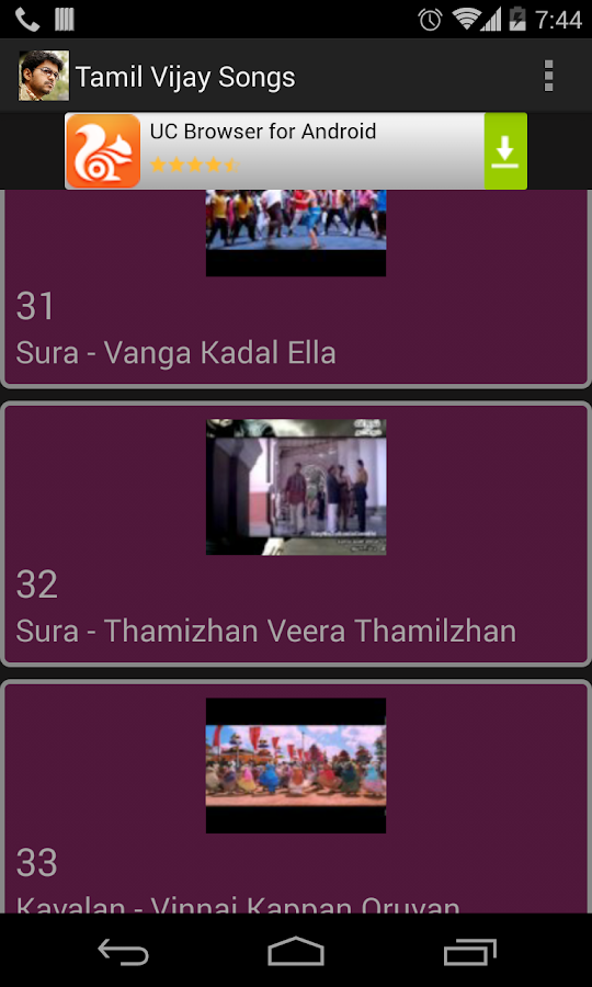 Tamil Vijay Video songs - Android Apps on Google Play