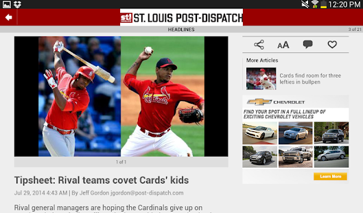 Post-Dispatch Baseball - screenshot thumbnail
