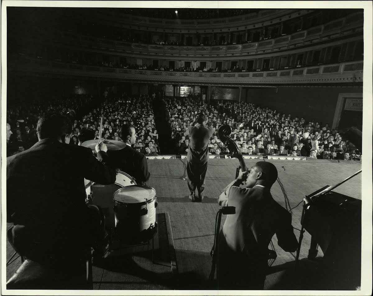 """ Jazz At The Philharmonic "" C.1944 Jazz Musicians"