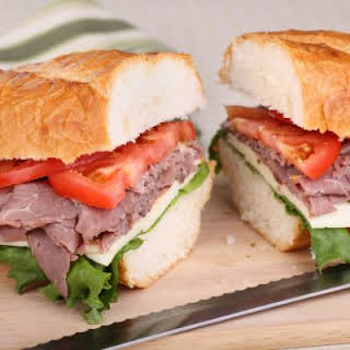 Copycat Arby's Roast Beef Sandwiches with Just-Like Arby's Sauce.