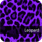 Cute! PurpleLeopard WallPaper4
