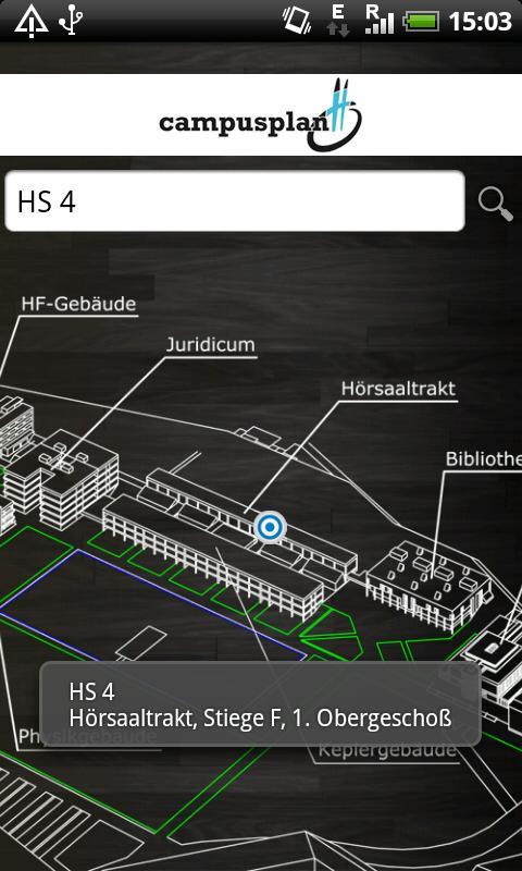 ÖH JKU – Screenshot
