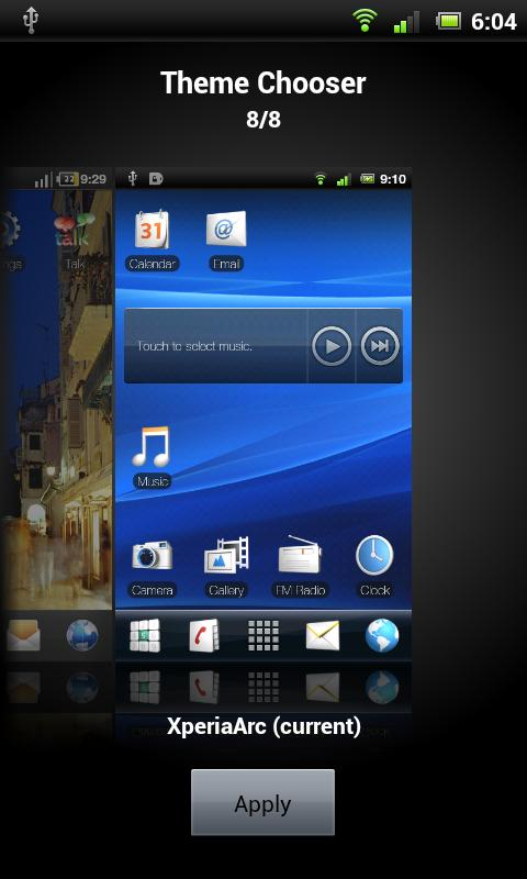 XperiaArc - CM7- screenshot