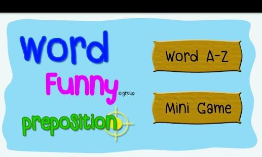 Easy Preposition Quiz