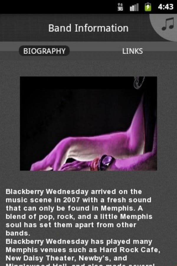 Blackberry Wednesday- screenshot