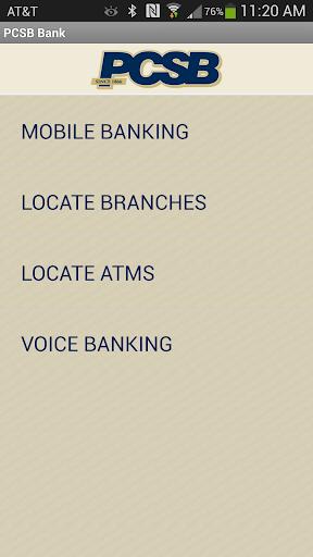 PCSB Bank Application