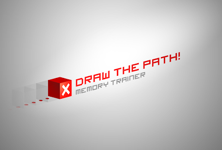 Draw the path : memory trainer
