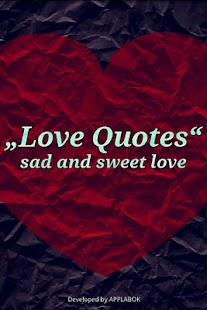 Love Quotes sad and sweet love - screenshot thumbnail