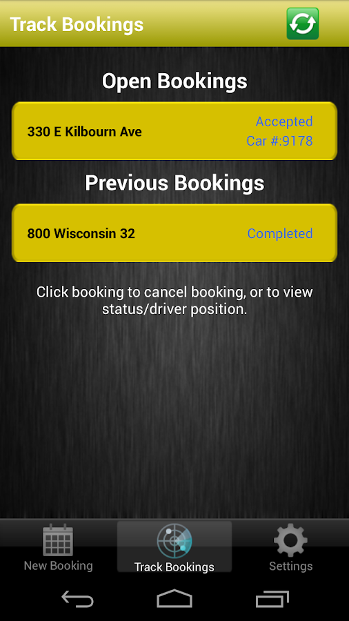 Yellow Cab Co-Operative- screenshot