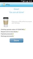 Screenshot of X-Pay