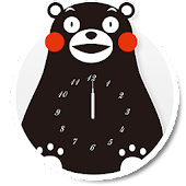Kumamon Clock Live Wallpaper