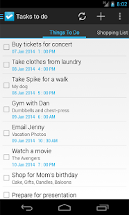 Tasks To Do : To-Do List - screenshot thumbnail