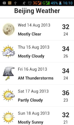 Beijing Weather