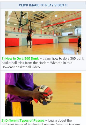 Free Basketball Tutorials