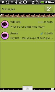 GO SMS THEME/Watermelon Shoes - screenshot thumbnail
