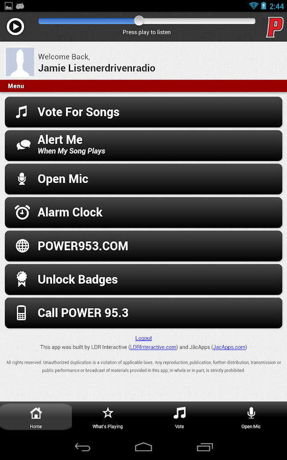 POWER 95.3 - screenshot