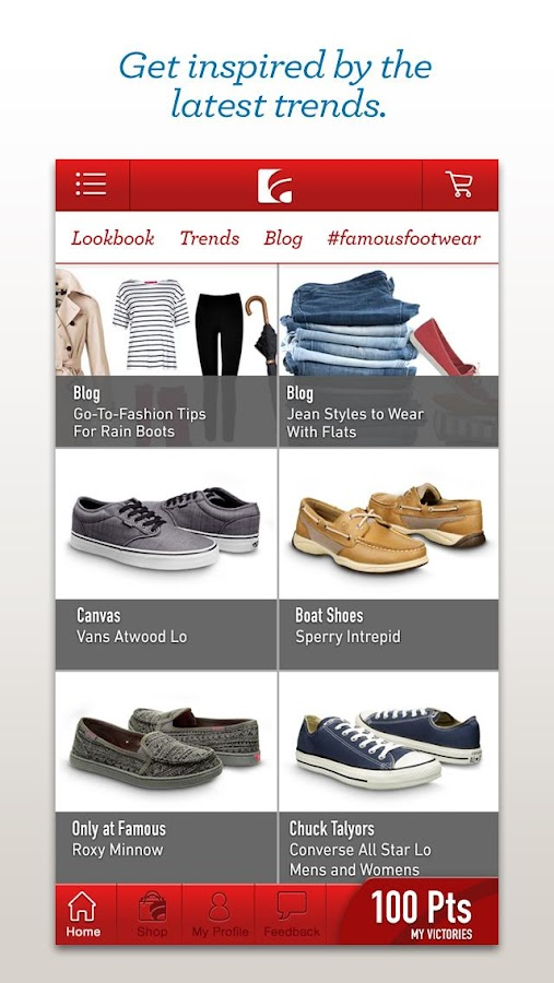 Famous Footwear Mobile - screenshot