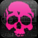 Neon Skulls Live Wallpaper icon