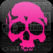 Neon Skulls Live Wallpaper
