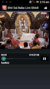 Shri Sai baba live - Shirdi - screenshot thumbnail