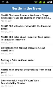 Nestlé - screenshot thumbnail