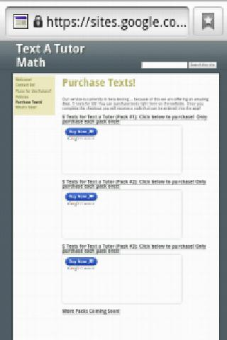 Text A Tutor - Live Math Help - screenshot