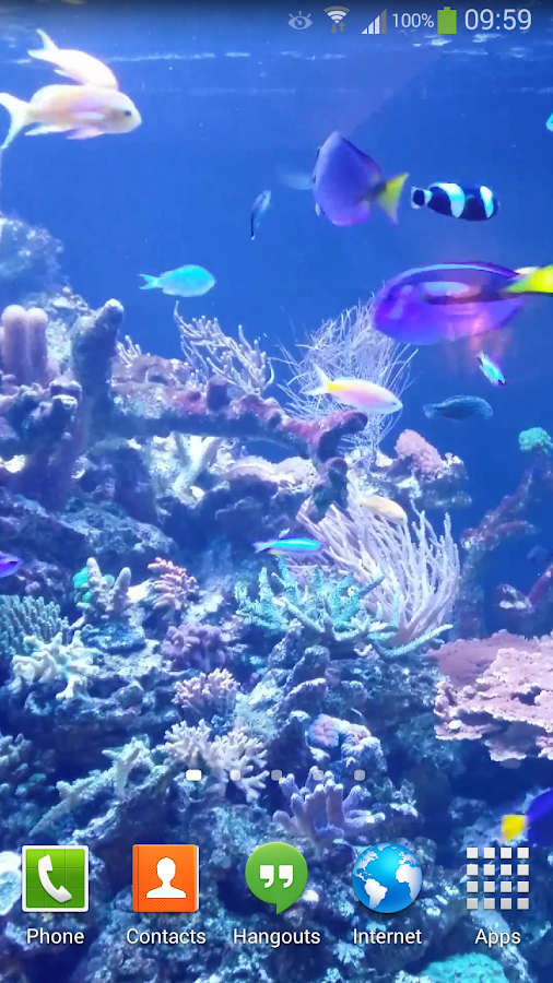 Aquarium live wallpaper hd 2 android apps on google play for Live fish store