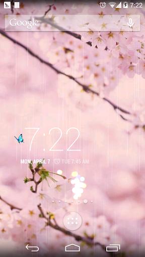 【免費個人化App】春天繽紛櫻花壁紙-APP點子