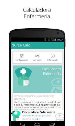 Calculadora Enfermería
