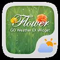 Flower GO Weather Widget Theme