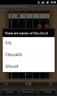 Reverse Chord Finder Free- screenshot thumbnail