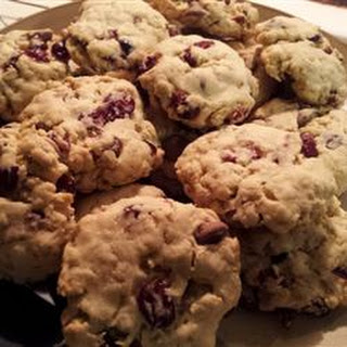 Chocolate-Cran-Oat Cookies