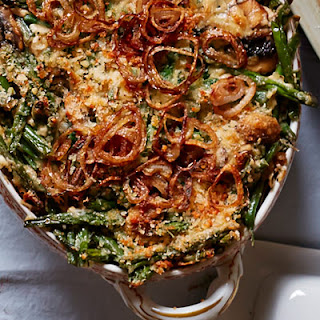 Green Bean Casserole with Fried Shallots.