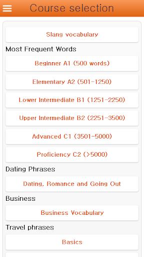 한국어 단어 및 어휘를 무료로 배우세요
