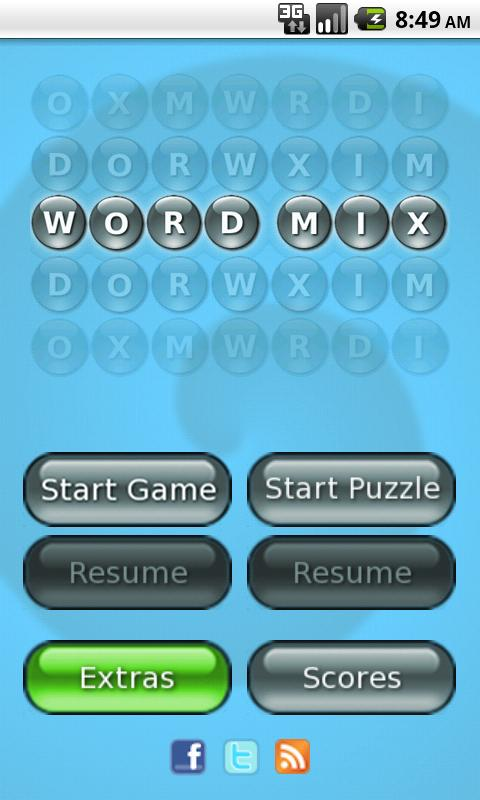 Word Mix Lite ™ - screenshot