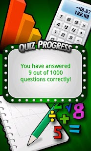 Ultimate Math Skills Quiz- screenshot thumbnail