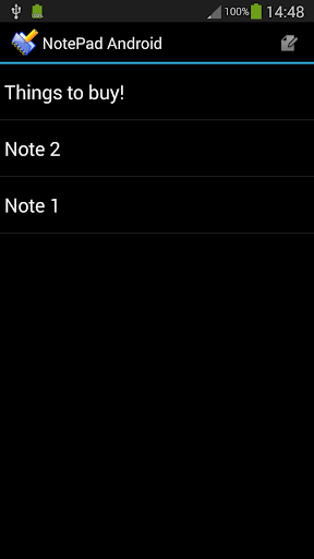 NotePad Android