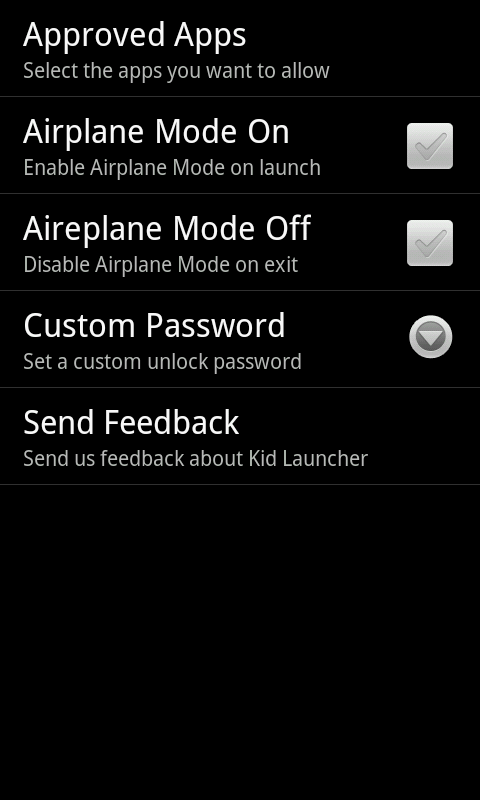 Kid Launcher - screenshot