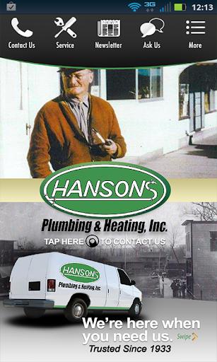 Hanson's Plumbing Heating