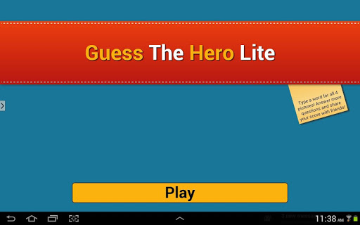 Guess The Name of Hero Lite