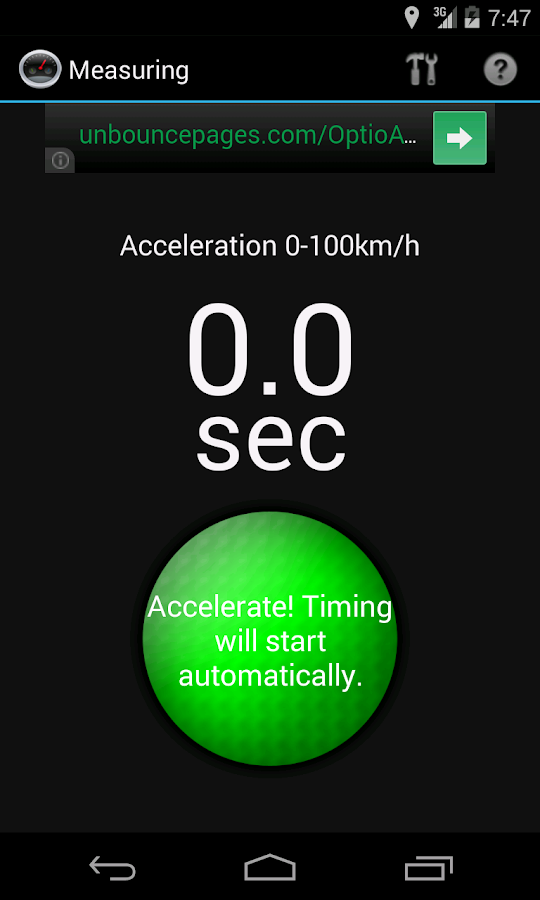 Car Performance Meter - screenshot