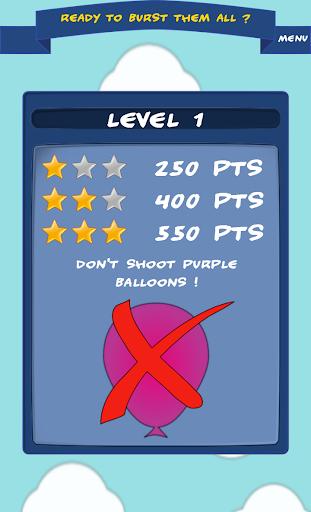 3 2 1 Burst balloons