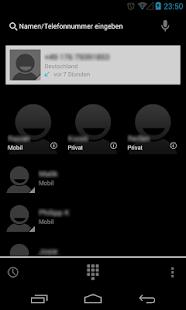 BetterKat CM11 Theme Blue X - screenshot thumbnail